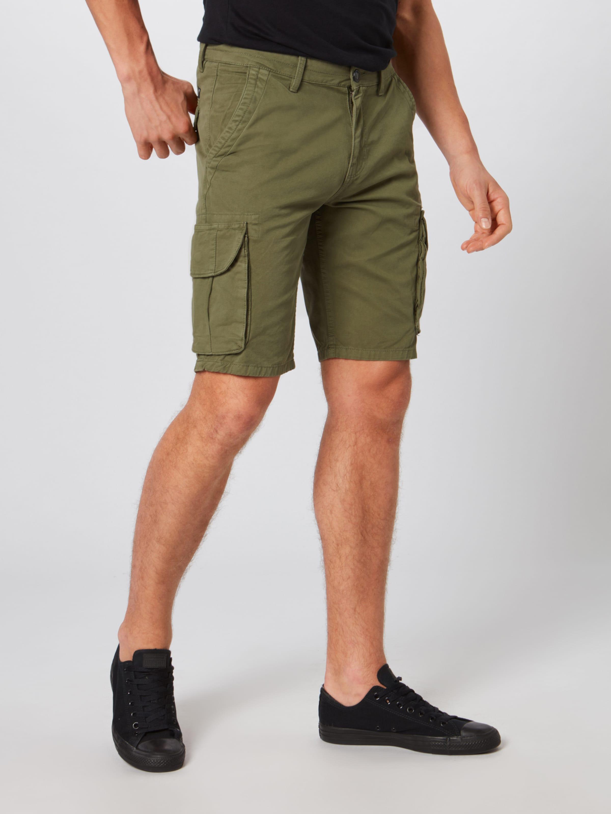 Pantalon Cargo En Tom Tailor Kaki Denim qjSGzMLUVp
