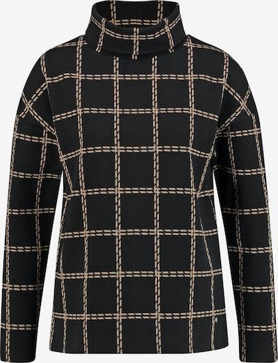 GERRY WEBER Shirt in beige / schwarz, Produktansicht