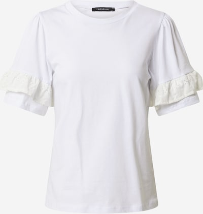 Trendyol Koszulka w kolorze białym: Widok z przodu