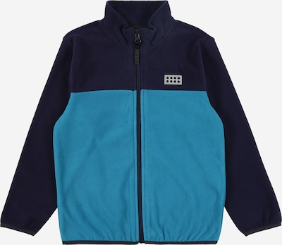 LEGO WEAR Fleece jas 'Sinclair' in de kleur Navy / Hemelsblauw, Productweergave