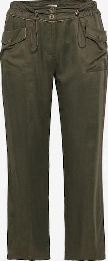 sheego style Hose in khaki, Produktansicht