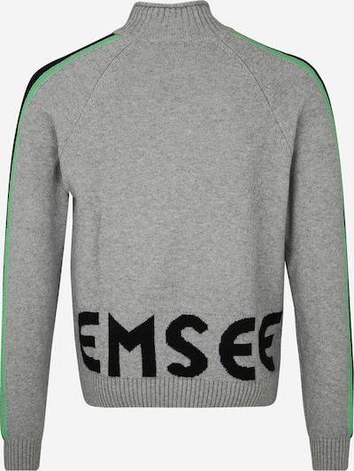 Sportinis megztinis iš CHIEMSEE , spalva - pilka: Vaizdas iš galinės pusės