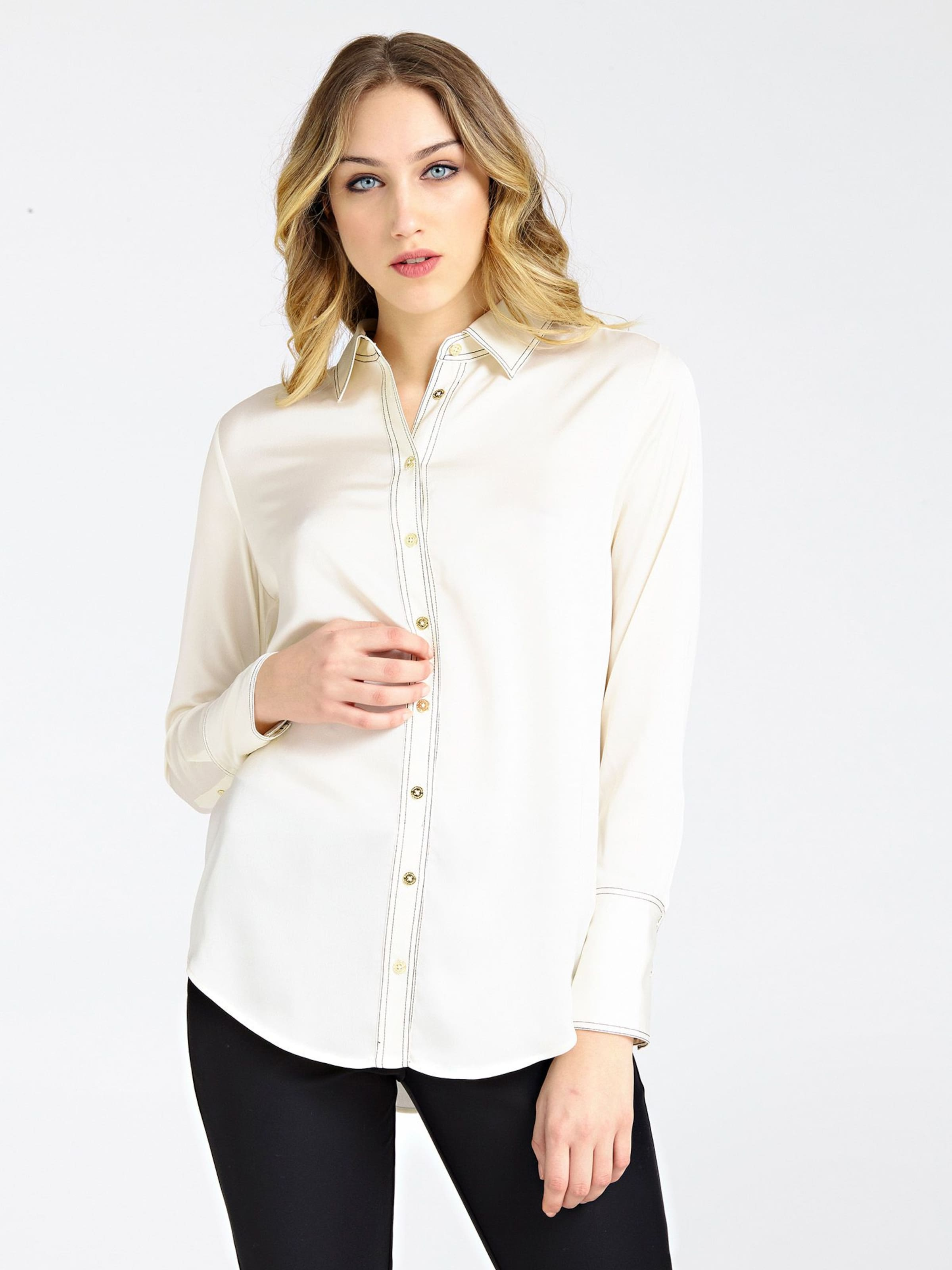 Angeles Bluse In Marciano Offwhite Los HWEYID29