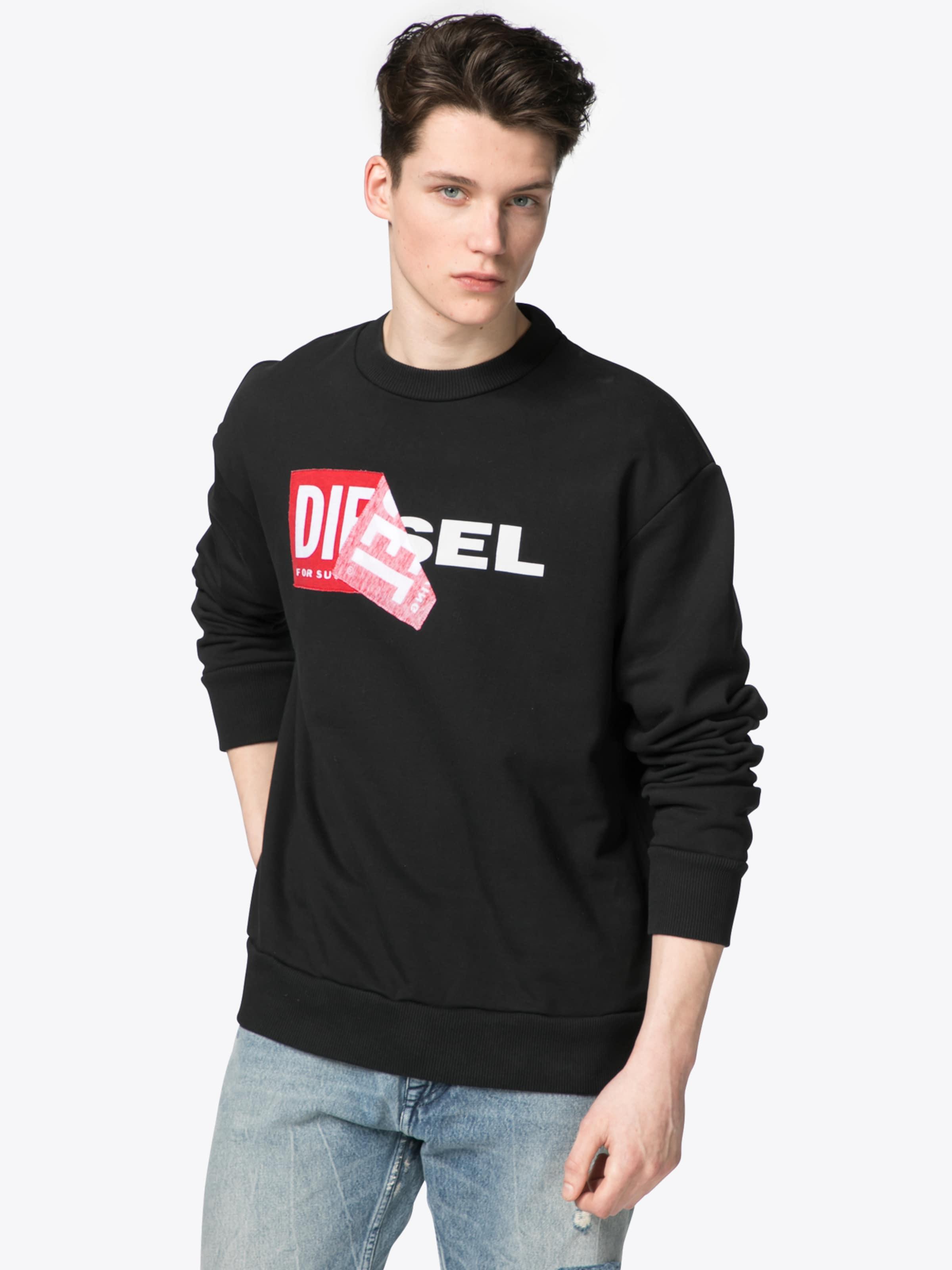 DIESEL Sweatshirt 'S-SAMY' Schnelle Lieferung 2018 Neueste Preiswerte Online Marktfähig Günstiger Preis Verkauf Besten Verkaufs x5Iuxy