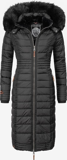 NAVAHOO Wintermantel ' Umay ' in schwarz, Produktansicht
