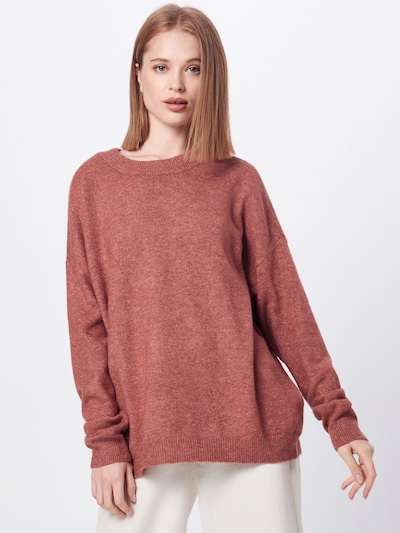 VERO MODA Pull-over 'LAKELY' en rose ancienne: Vue de face