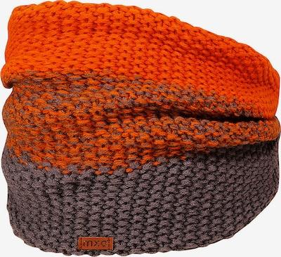 MAXIMO Schlauchschal in braun / orangerot, Produktansicht