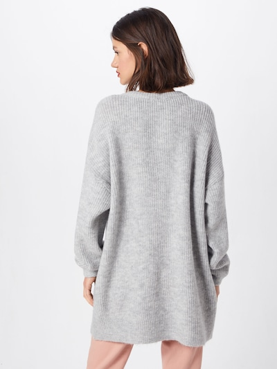 ABOUT YOU Pullover 'Mina' in grau: Rückansicht