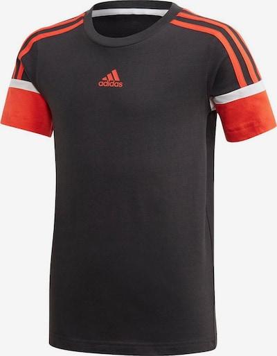 Sportiniai marškinėliai 'Bold' iš ADIDAS PERFORMANCE , spalva - oranžinė-raudona / juoda / balta, Prekių apžvalga