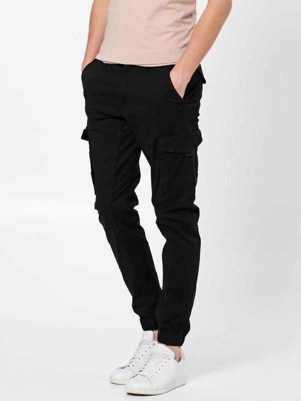 Noos' Cargo Noir Akm Black 'jjipaul En Jackamp; Jones Jjflake 542 Pantalon W2IYE9HD