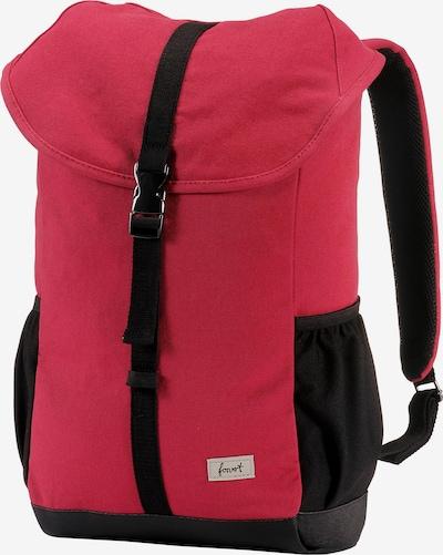 Forvert Sac à dos en rose foncé / noir, Vue avec produit