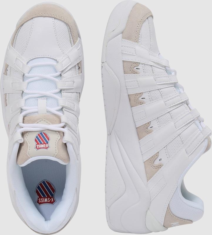 c052776204 K-SWISS Rövid szárú edzőcipők bézs / kék / piros / fehér színben | ABOUT YOU