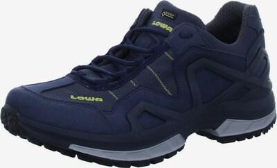 LOWA Lage schoen in de kleur Donkerblauw / Kiwi, Productweergave