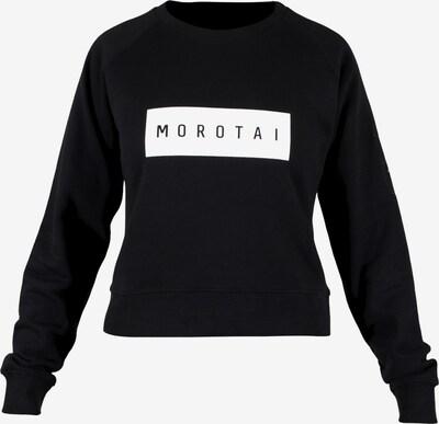 MOROTAI Sweatshirt ' Large Bloc Logo Sweatshirt ' in schwarz, Produktansicht