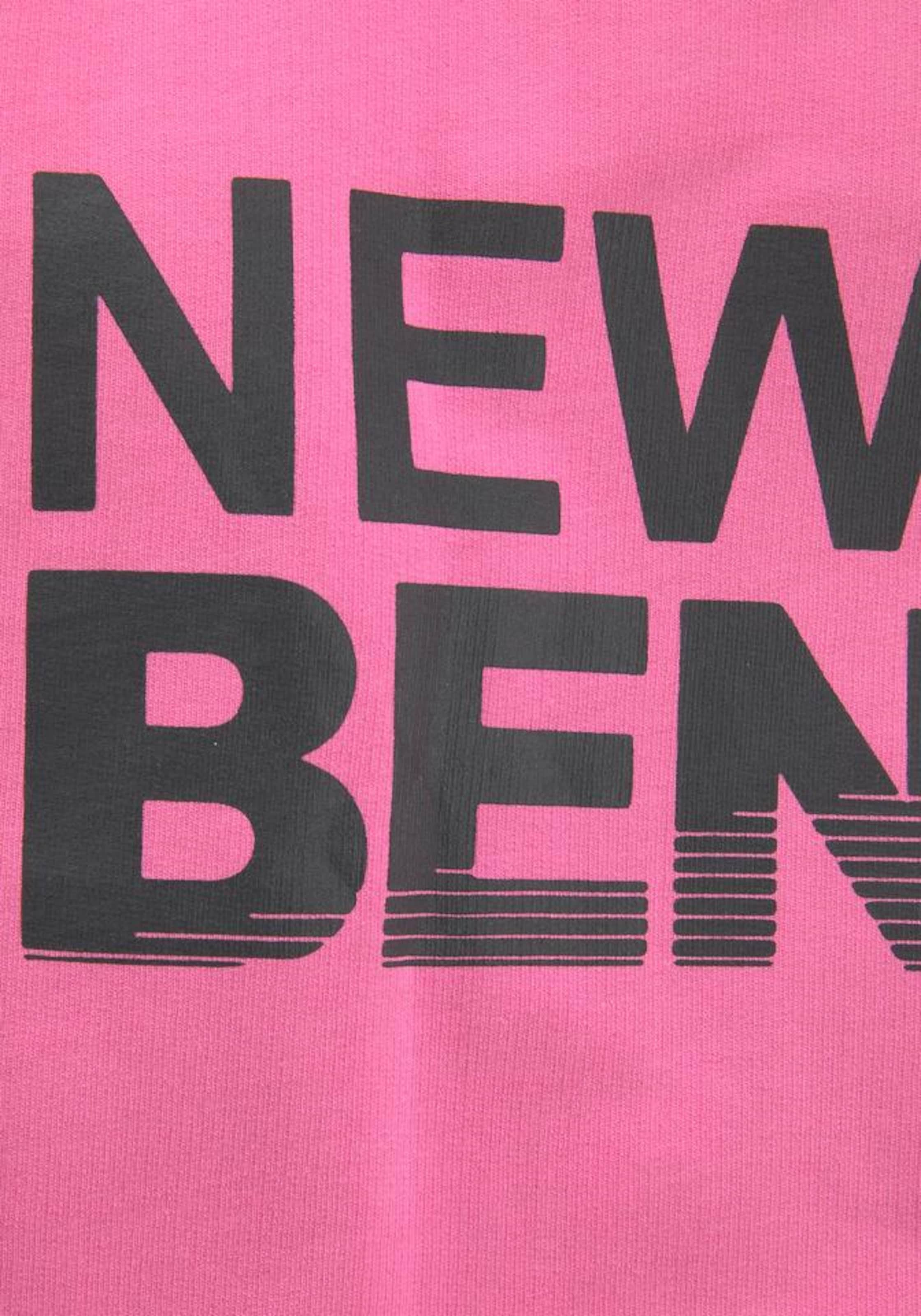BENCH Longsweatshirt in pink
