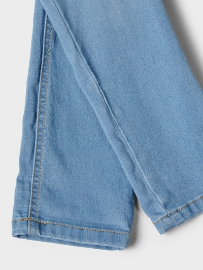 NAME IT Powerstretch X-Slim Fit Jeans in blau: Frontalansicht