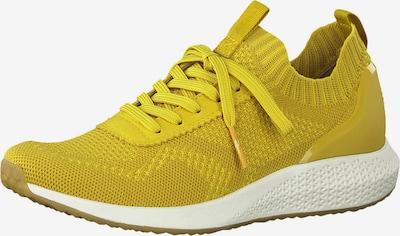 Tamaris Fashletics Baskets basses en jaune d'or, Vue avec produit