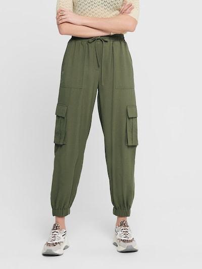 ONLY Cargohose in khaki, Modelansicht