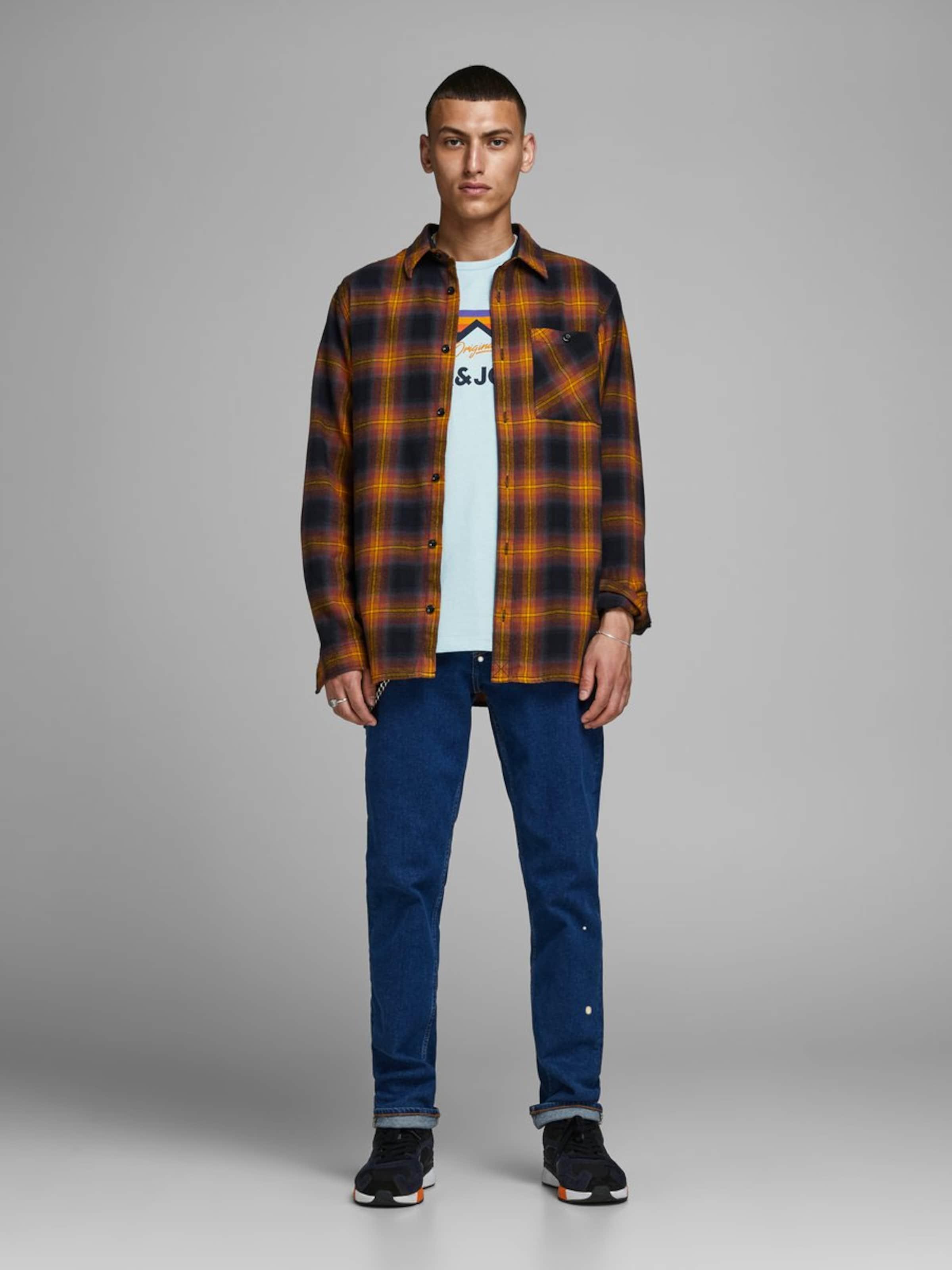 Print Jones In Berglogo shirt Jackamp; Hellblau T 80wOPXkn