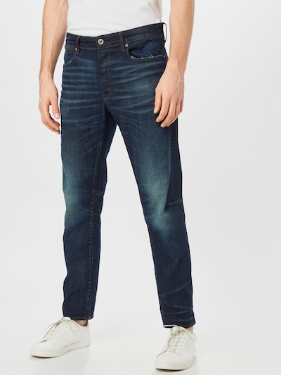 G-Star RAW Kavbojke 'Citishield 3D slim tapered' | moder denim barva, Prikaz modela