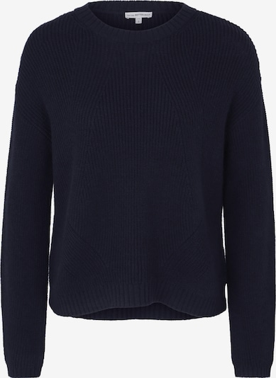 BETTER RICH Strickpullover 'Boxy Crew Rib' in navy, Produktansicht