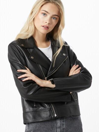 Geacă de primăvară-toamnă 'Essential' Calvin Klein pe negru, Vizualizare model