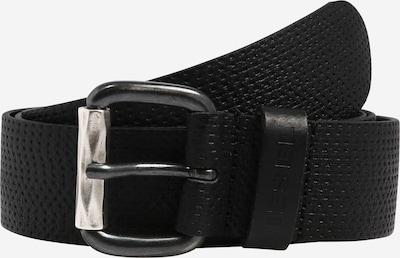 Curea 'B-ROLLY' DIESEL pe negru, Vizualizare produs