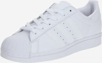ADIDAS ORIGINALS Baskets 'Superstar J' en blanc, Vue avec produit