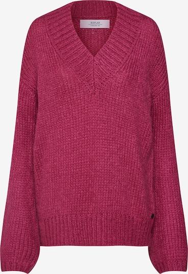 REPLAY Pullover in burgunder, Produktansicht