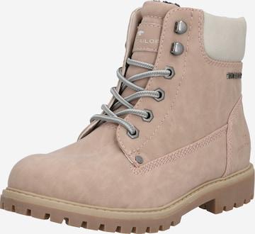 TOM TAILOR Boots i beige