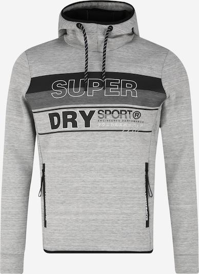 Superdry Sportsweatshirt in de kleur Antraciet / Lichtgrijs, Productweergave