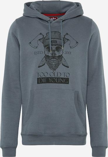 Derbe Sweatshirt 'TOTDY Hoody' in dunkelgrau, Produktansicht