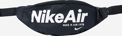 Nike Sportswear Tasche 'Heritage 2.0' in dunkelblau / weiß, Produktansicht