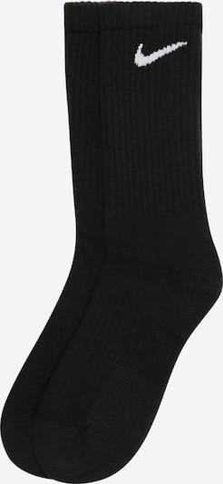 NIKE Sportsokken 'Nike Everyday Cushion Crew' in de kleur Zwart / Wit, Productweergave