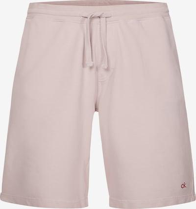 Calvin Klein Pantalon 'Terry' en rose pastel, Vue avec produit