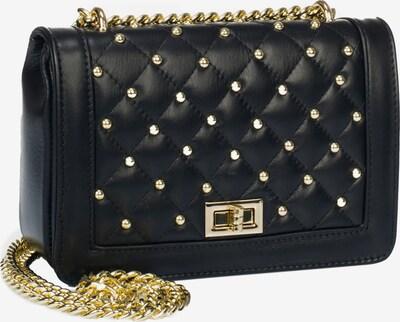 faina Tasche in gold / schwarz, Produktansicht