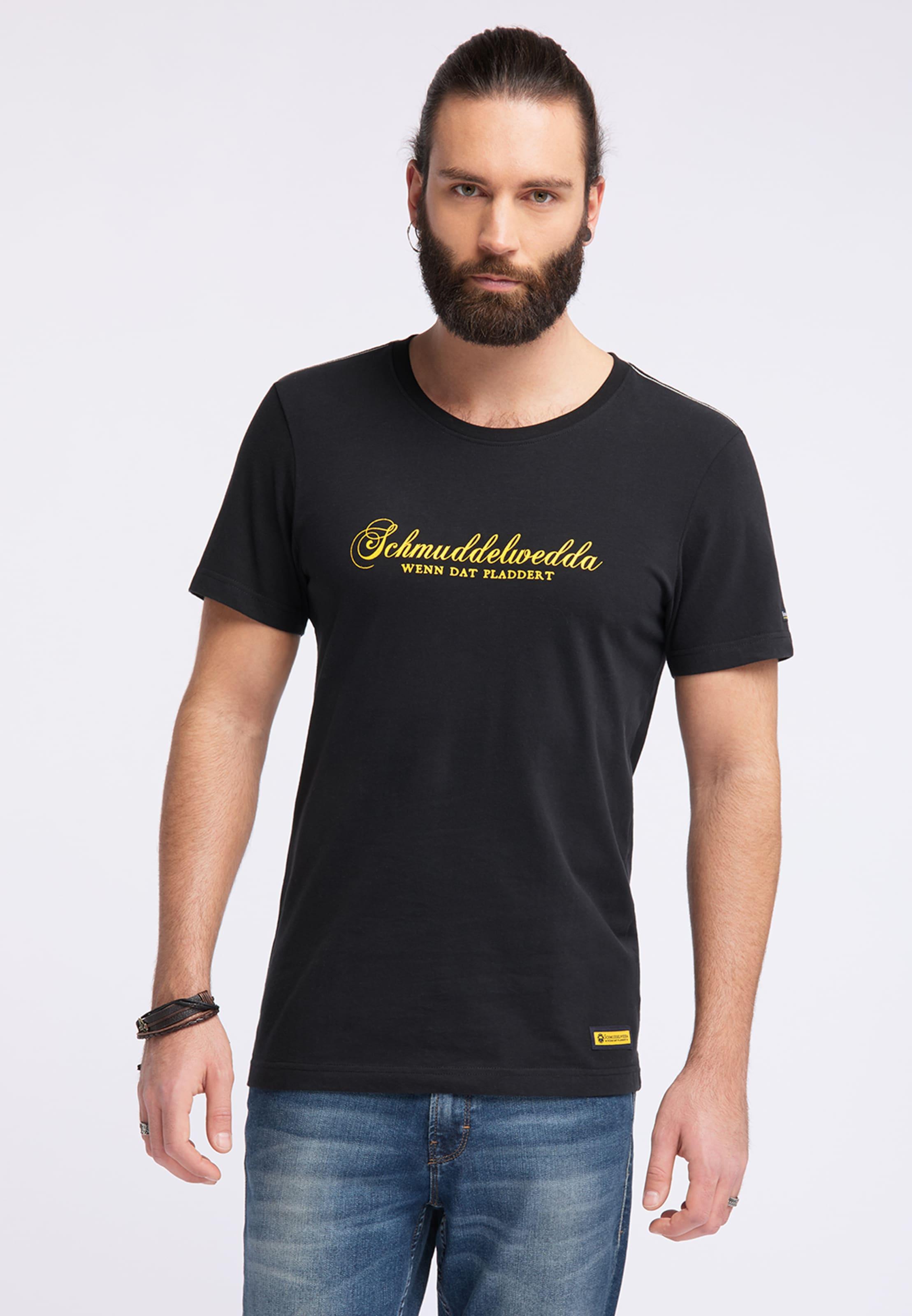 shirt En Schmuddelwedda T shirt JauneNoir T En Schmuddelwedda mN80Onwv