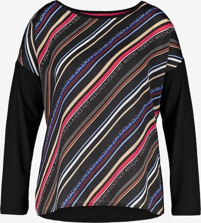 SAMOON Shirt in mischfarben / schwarz, Produktansicht