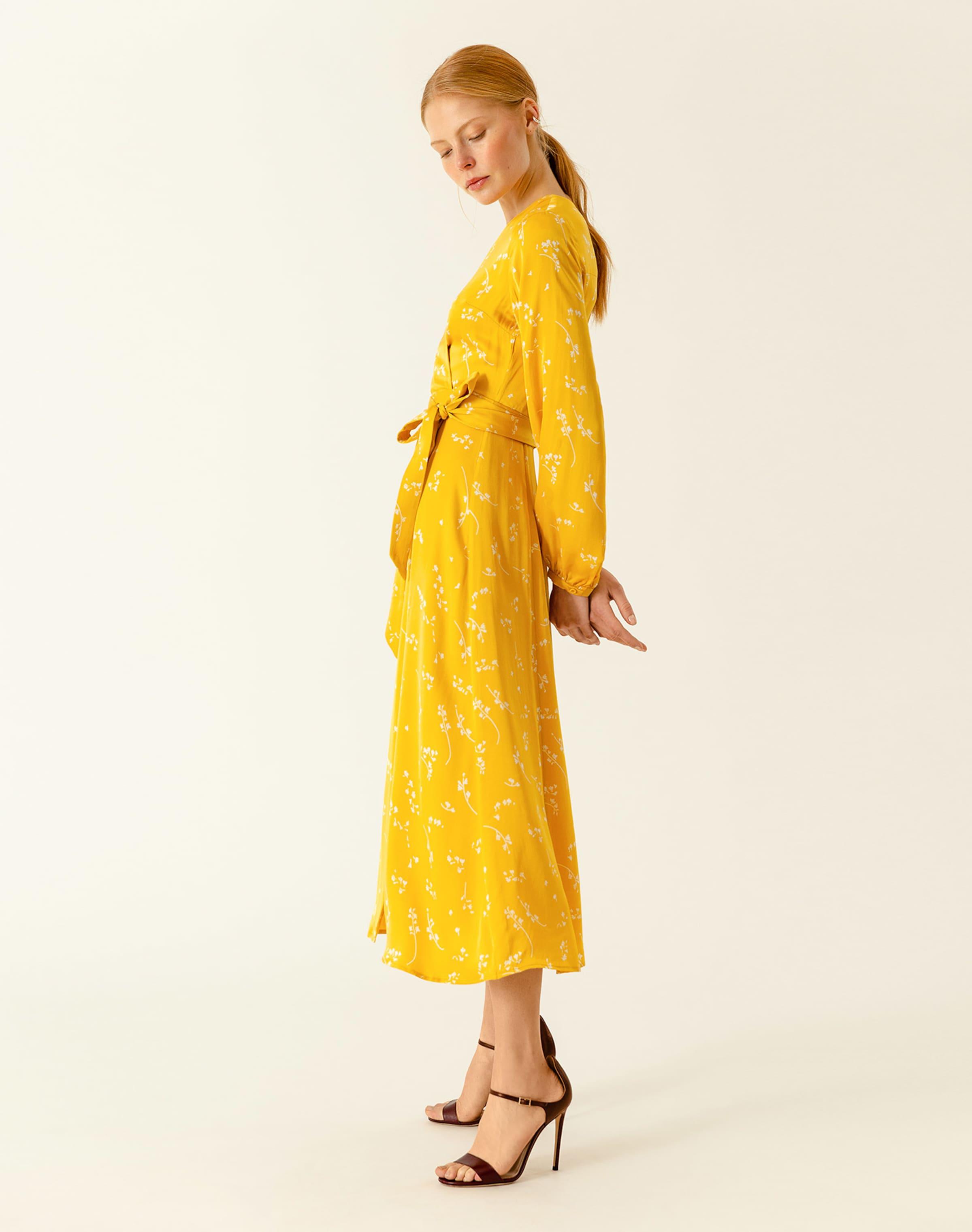 Oak LimoneWeiß Ivyamp; Kleid Oak Kleid Ivyamp; In ul13FcTKJ