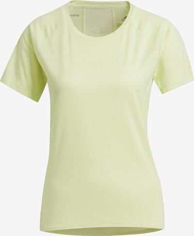 ADIDAS PERFORMANCE Functioneel shirt in de kleur Geel: Vooraanzicht