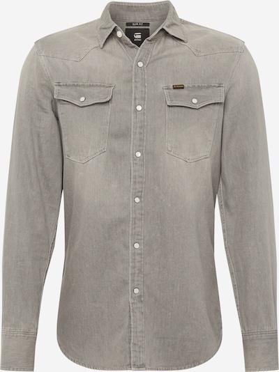 G-Star RAW Košile - šedá: Pohled zepředu