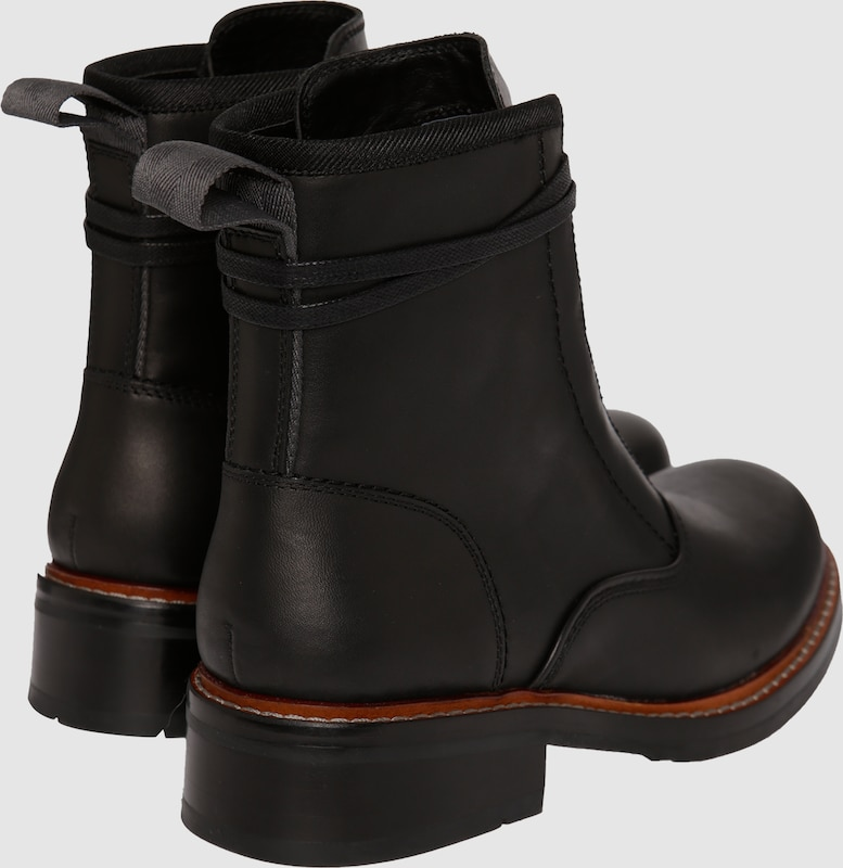 G-STAR RAW Lederboots 'Industrial Monk'