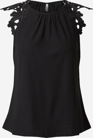 ONLY Top 'SILJA' in de kleur Zwart, Productweergave