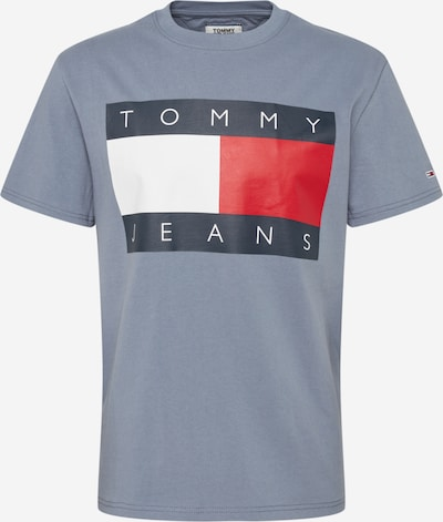Tommy Jeans Shirt 'TJM TOMMY FLAG TEE' in grau, Produktansicht