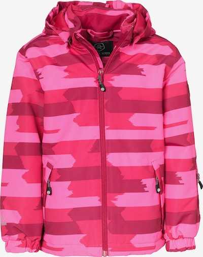 COLOR KIDS Skijacke 'DIKSON' in cyclam / pink / hellpink, Produktansicht