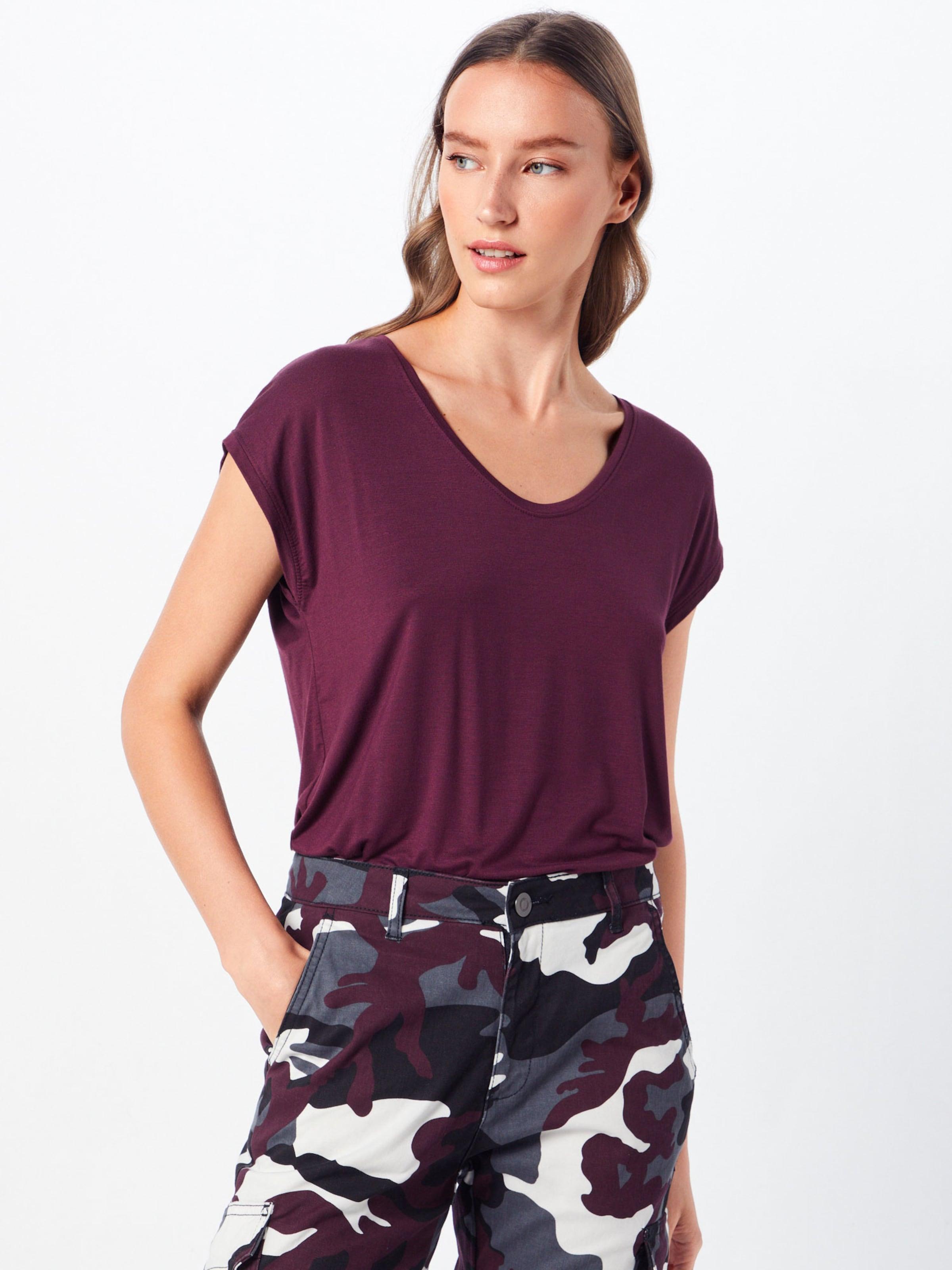 Pieces Aubergine En T 'billo' shirt 08wPkNnOX