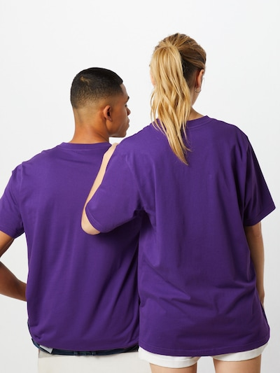 ABOUT YOU X PARI Shirt 'Theresa' in pflaume: Rückansicht