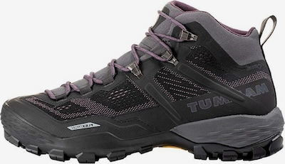 MAMMUT Schuh 'Ducan Mid GTX' in lila / schwarz, Produktansicht