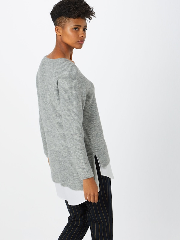 over En Chiné Pull Esprit Gris 7bgYf6vy