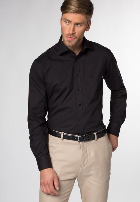 eterna langarm hemd modern fit in grau about you. Black Bedroom Furniture Sets. Home Design Ideas